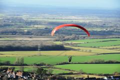 glider over Sussex